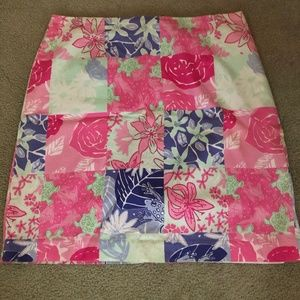 Lilly Pulitzer A-Line Skirt